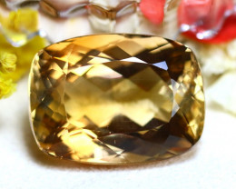 Whisky Topaz 35.03Ct Natural Imperial Whisky Topaz DR671/A46