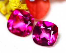Pink Topaz 12.86Ct 2Pcs Natural Pink Topaz  DR688/A35