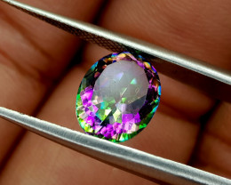 2.42Crt Mystic Quartz Natural Gemstones JI75
