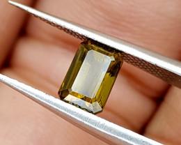 1.15Crt Rare Epidote Natural Gemstones JI75