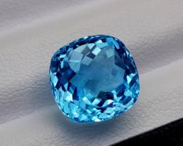 9.45Crt Blue Topaz Natural Gemstones JI75