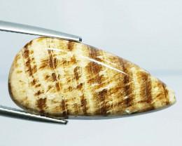 12.39 ct Natural Aragonite Pear Cabochon  Gemstone
