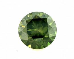 0.52 CT Diamond Gemstones Top green color