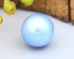 Akoya Blue Pearl 2.60Ct 7.2mm Natural Akoya Blue Pearl SF195