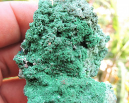 49.61g CONICHALCITE AND OLIVENITE SPECIMEN FROM LAVRION MINES GREECE