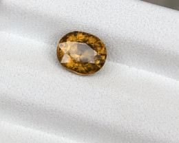 HGTL Certified 1.48 Carats Natural Sphene Nice Cut Gemstone