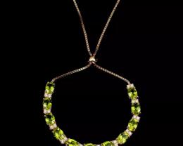Brilliant Natural 56.0tcw. Peridot  Bracelet