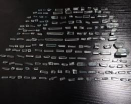 825.56 carats Facet grade Aquamarine Beryl terminated rough lot Shigar
