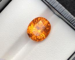 Ravishing Quality 6.00 Ct Fanta Orange Color Spessartite Garnet