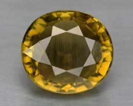 Tourmaline 3.15 Cts UnHeated Yellowish Green Natural Loose Gemstone
