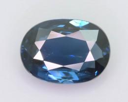 Cobalt Blue Spinel 1.10 ct Intense Royal Blue Tanzania Mine Sku.20