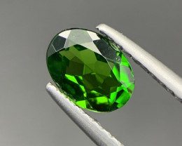 0.70 Ct Excellent Unheated Green Chrome Diopside. Cd-5665