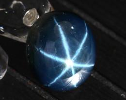 Star Sapphire 20.68Ct Natural 6 Rays Blue Star Sapphire ER623/A39