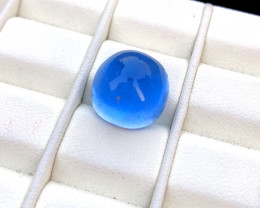 NR - 14.20 Carats Blue Aquamarine Cabochon Gemstone