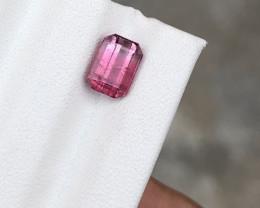 HGTL Certified 1.81 Carats Natural Tourmaline Nice Cut Gemstone