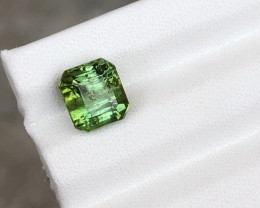 HGTL Certified 3.89 Carats Natural Tourmaline Gemstone From Afghanistan