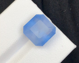 Asscher 6.80  Cut Santa Maria  Natural Attractive Color Aquamarine tz