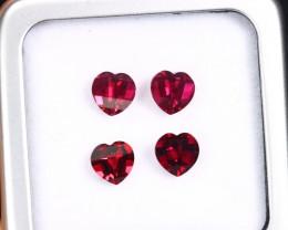 4.08cts Natural Tanzania Mahenge LOVE Garnet LOTS / BMA2440