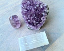 Raw Natural Amethyst Healing Crystal