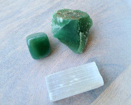 Raw Natural Green Aventurine Healing Crystals