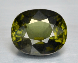 Tourmaline 2.01 Cts Un Heated Green Color Natural Loose Gemstone