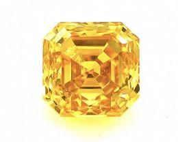 0.82 CT Diamond Gemstones Top yellow color