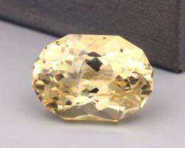 Scapolite 13.60Ct Oval Cut Natural Yellow Color Scapolite SF952