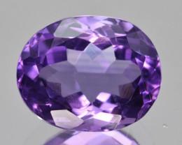 Natural Amethyst 5.89  Cts, Good Quality Gemstone
