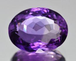 Natural Amethyst 5.88  Cts, Good Quality Gemstone
