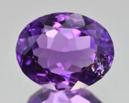 Natural Amethyst 4.39  Cts, Good Quality Gemstone