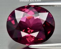 3.15ct Umbalite/Rhodolite Garnet - Purplish Pink / 9.8 x 8.2mm
