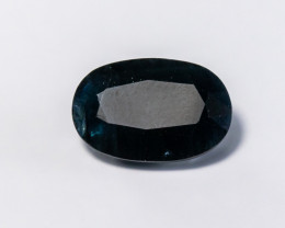 4.8ct. Natural Midnight Blue Sapphire