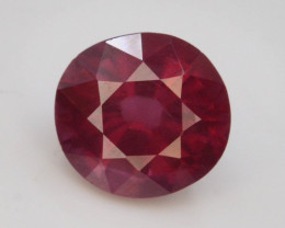 Red Color 1.00 Ct Natural Amazing Garnet .A.