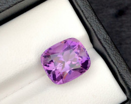 Unbelievable Purple 5.80 Ct Natural  Amethyst ~ Brazil