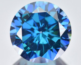 Azotic Topaz 3.22 Cts Millennium Cut Fancy Blue Color Natural Gemstone