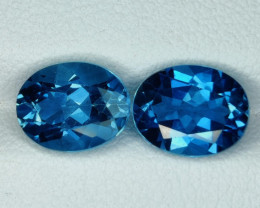 4.45 CTS~EXCELLENT OVAL CUT LONDON BLUE NATURAL TOPAZ NR!!