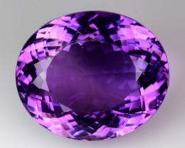 27.20 Ct Amethyst Excellent Cut Top Quality Gemstone. AM05