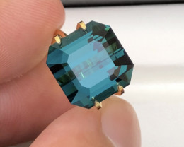 Superb Color and Quality 12.10 Ct Indicolite Tourmaline From Afghan