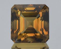 Flawless 127 Ct Fancy Asscher Cut Smokey Quartz Gemstone