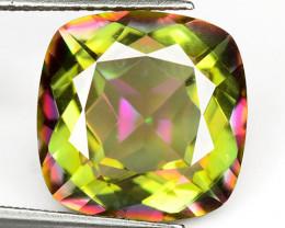 Mystic Topaz 5.66 Cts Rare Fancy Multi-Color Natural Gemstone