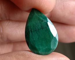 Natural Emerald Gemstone 100% Natural Treated VA1873