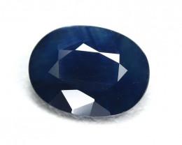 Sapphire 1.58Ct VS2 Oval Cut Natural Australian Blue Sapphire SG432
