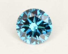 Diamond 0.45 ct Magnificent  Blue Color & Top Brilliance - SKU 1