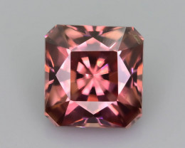 Rare Red Zircon 1.30 ct Imperial Specie Cambodian Mined SKU.19