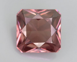 Rare Red Zircon 1.00 ct Imperial Specie Cambodian Mined SKU.19