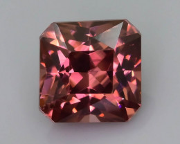 Rare Red Zircon 1.85 ct Imperial Specie Cambodian Mined SKU.19
