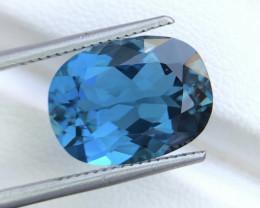 Top Quality 8.90 ct London Blue Topaz Big Size