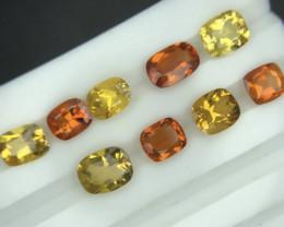 Mix Color Rare 6.55 ct Natural Clinohumite Gemstone
