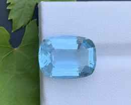 AAA Grade 9.55 ct Santa Maria Color Aquamarine