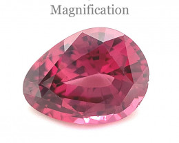 1.94ct Pear Pink Spinel from Sri Lanka Unheated